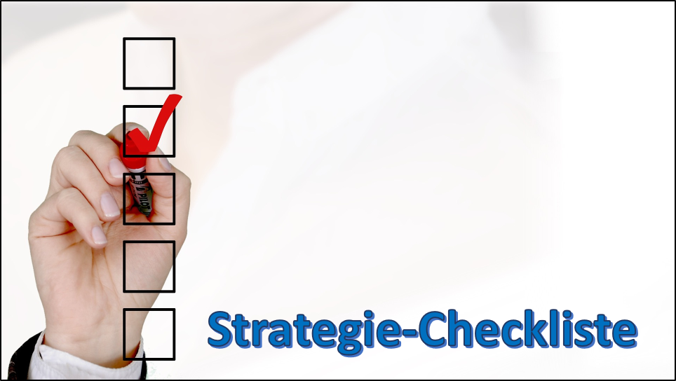 Strategie-Checkliste